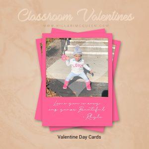 Classroom Valentine Cards